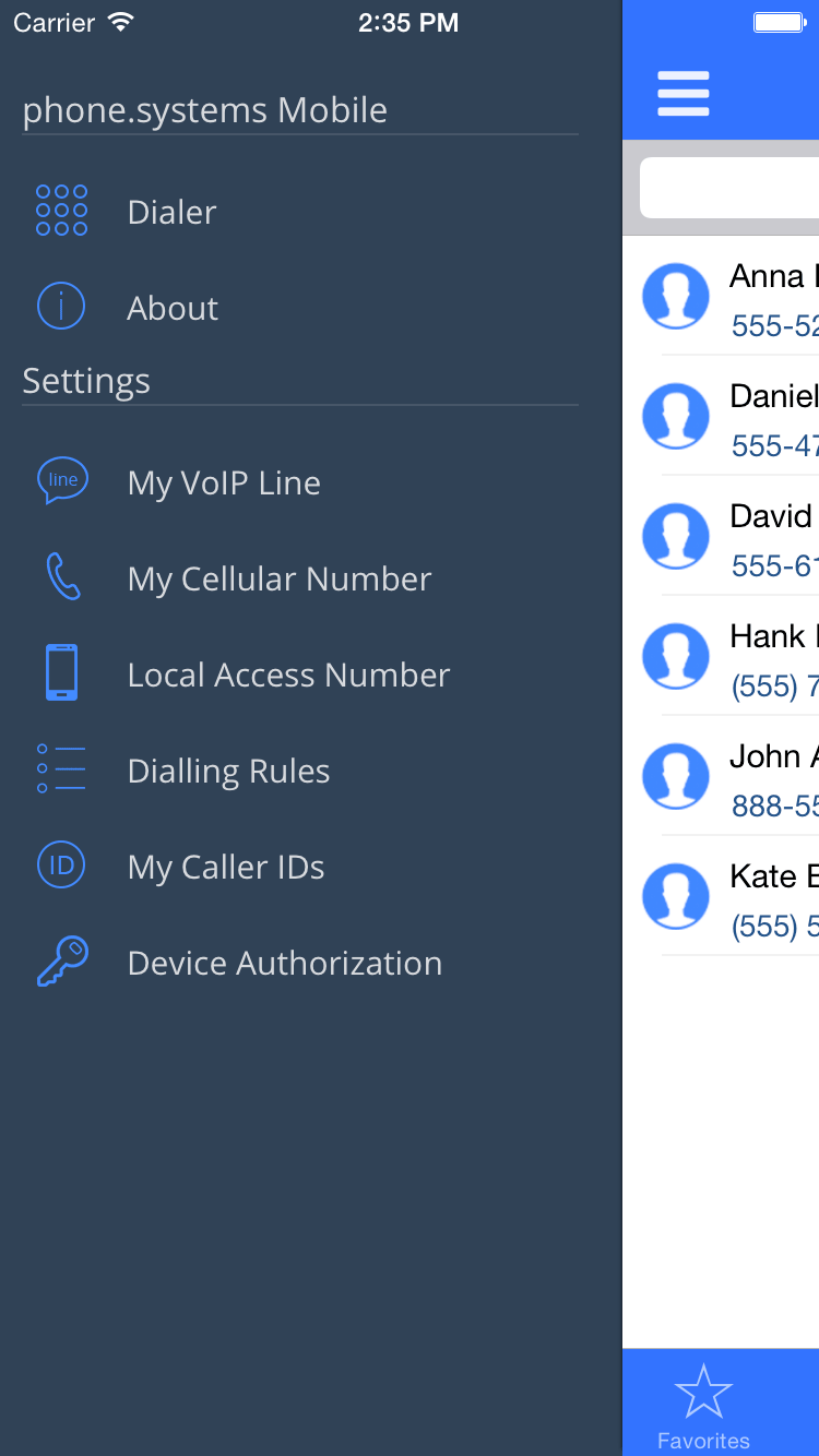 Cloud PBX Phone Systems Mobile App