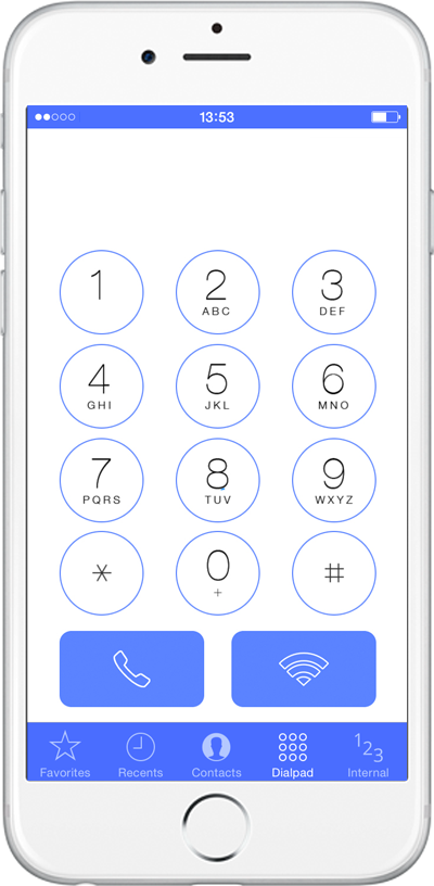 phone system mobile app ios
